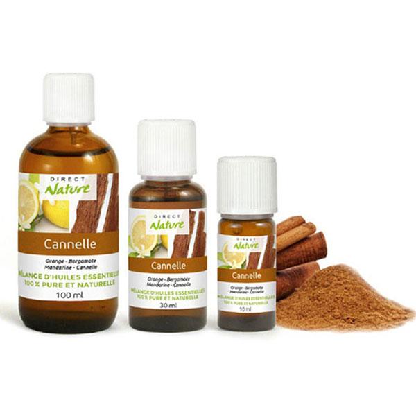 Mélange synergie huiles essentielles cannelle
