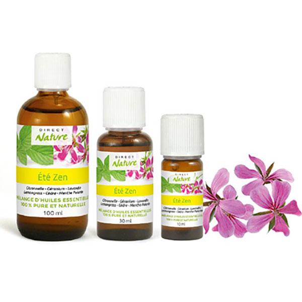 Mélange synergie huiles essentielles moustiques été zen